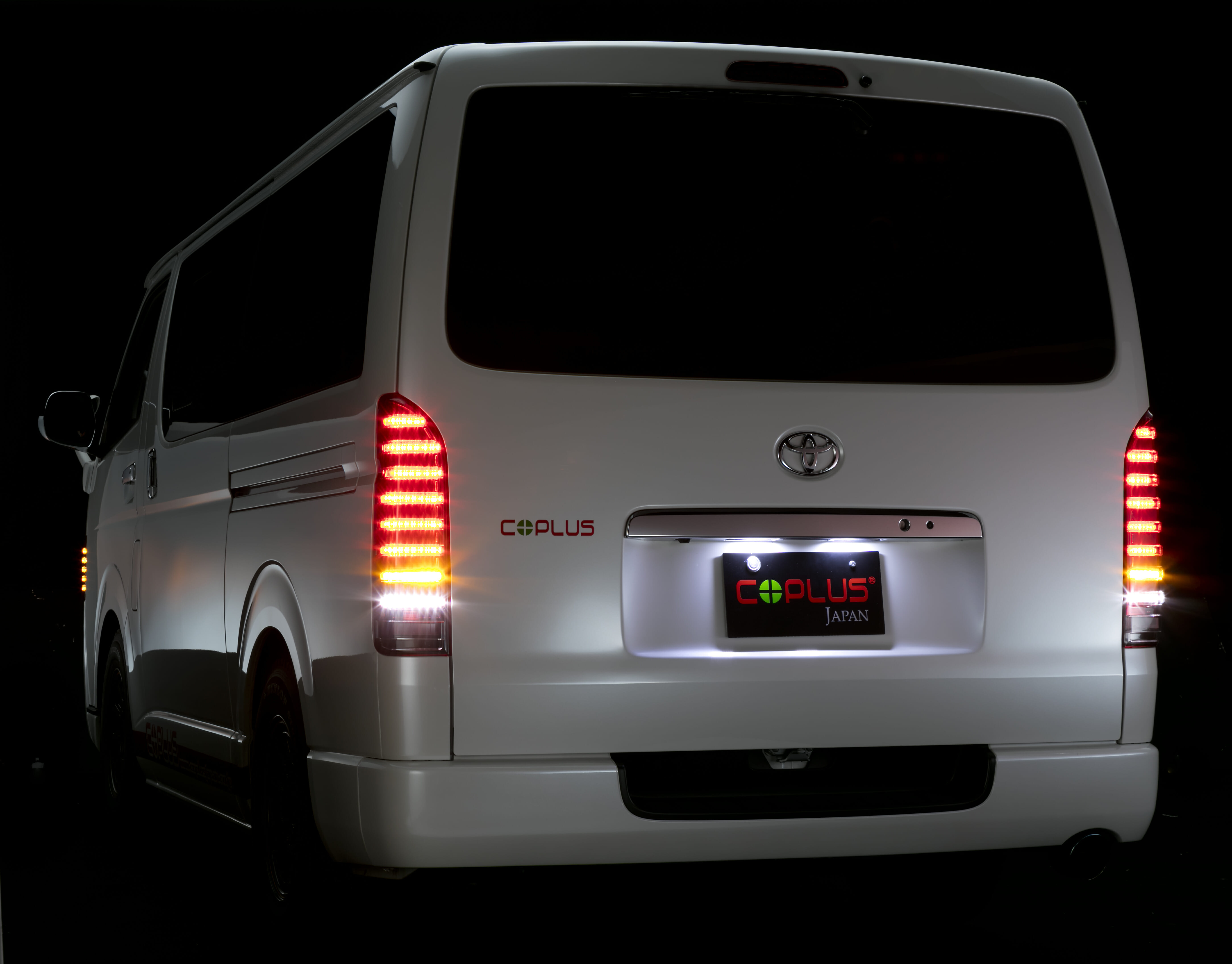 PLATINUM LED TAIL LAMP S MODEL ver3 for HIACE/REGIUS ACE